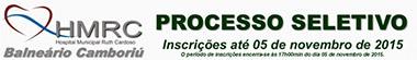 Processo Seletivo Hospital Ruth Cardoso de Balneário Camboriú - Edital 002/2015