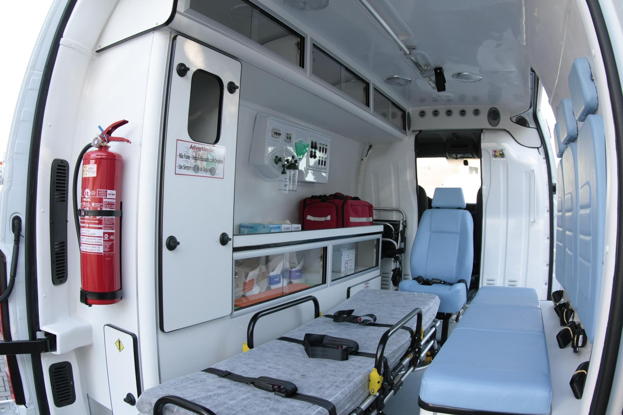 Nova Ambulância será entregue à Secretaria de Saúde